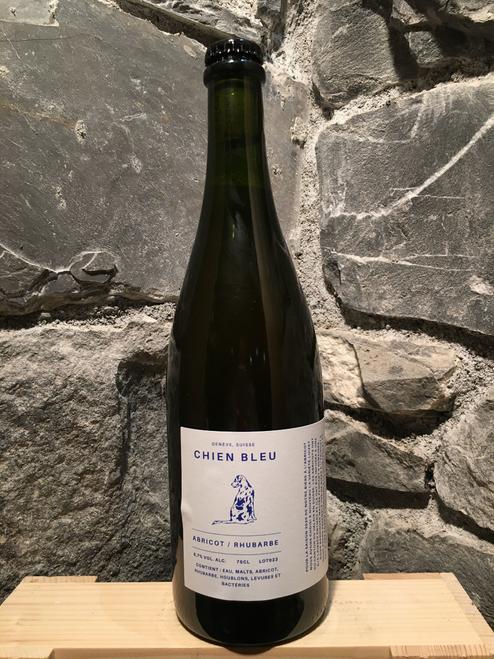 Chien Bleu Abricot / Rhubarbe 75cl - 2020