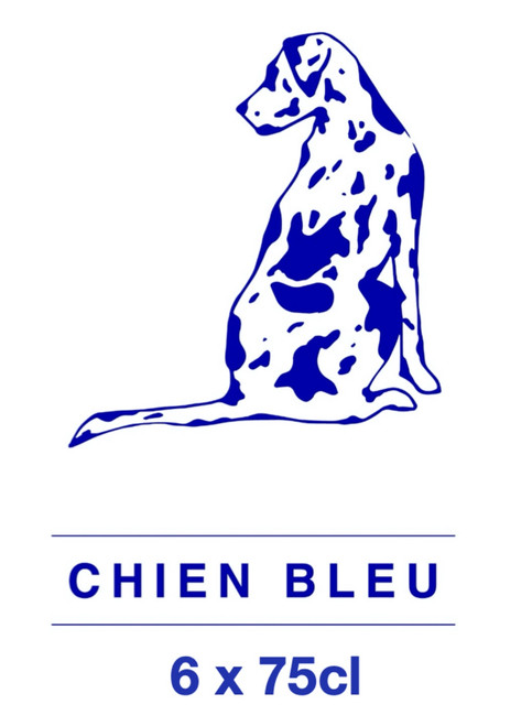 The Chien Bleu box contains 6 x 75cl beers from Chien Bleu brewery