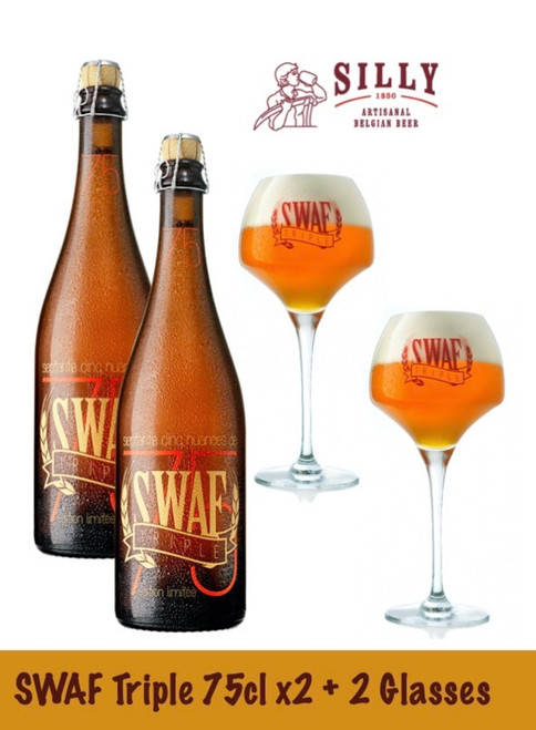 Swaf Box 2 x 75cl + 2 glasses