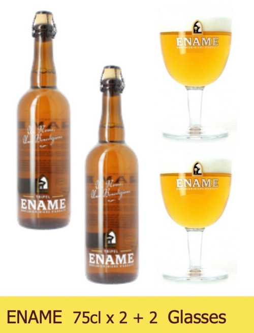 ENAME Box with 2 x 75cl and 2 glasses