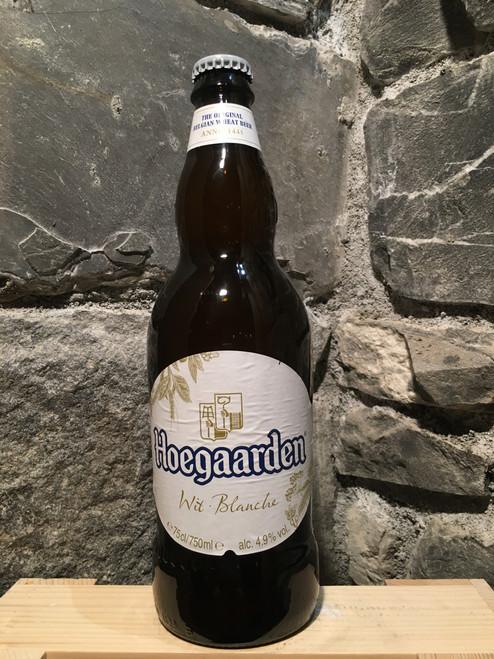 Hoegaarden white beer 75cl