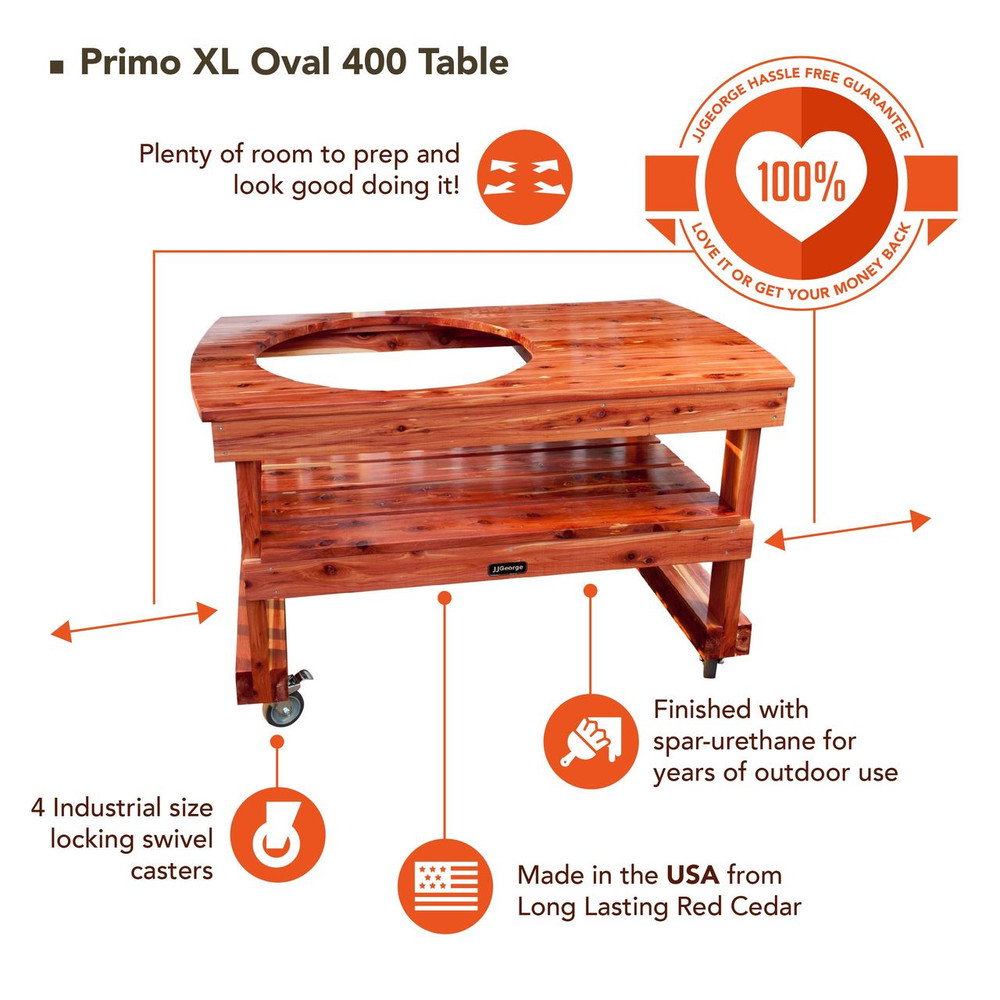Best XL Oval Primo Table