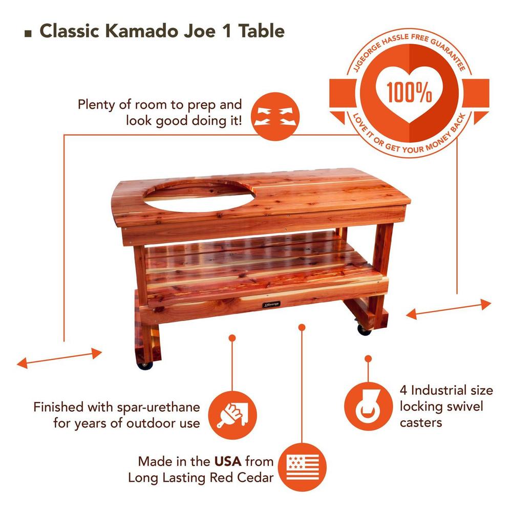 Classic Kamado Joe 1 table