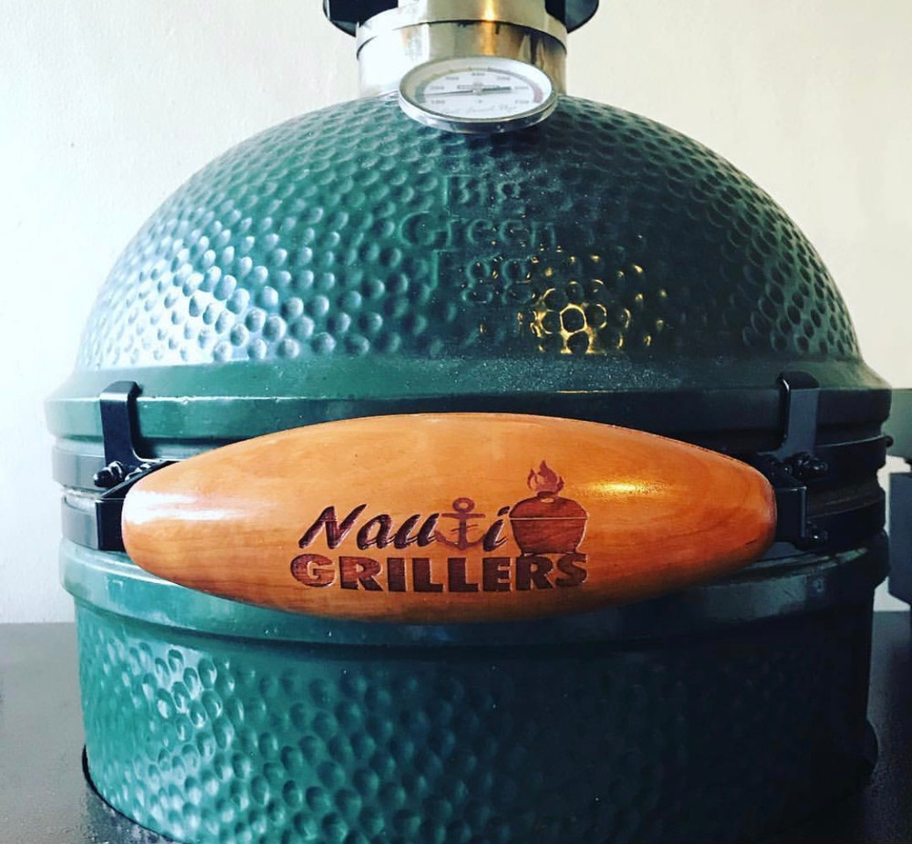 Customized Big Green Egg Handle