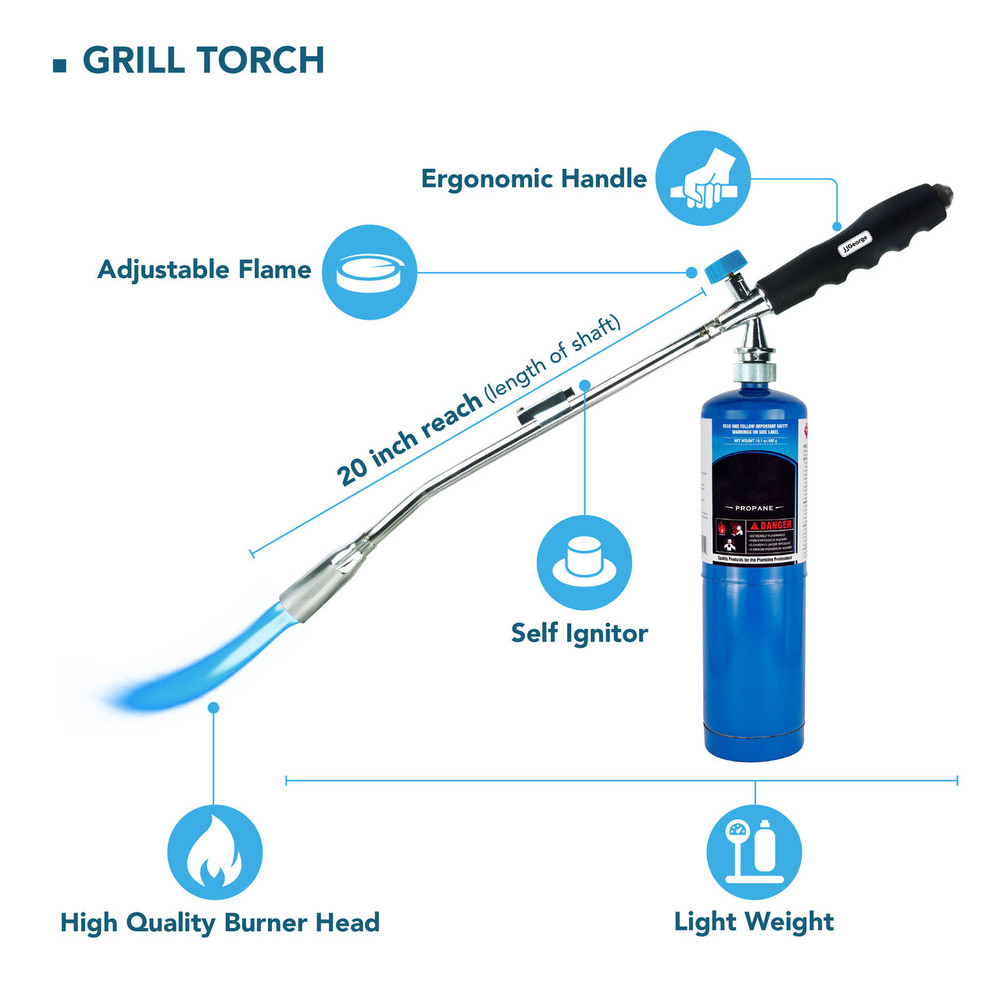Grill Torch Charcoal Lighter