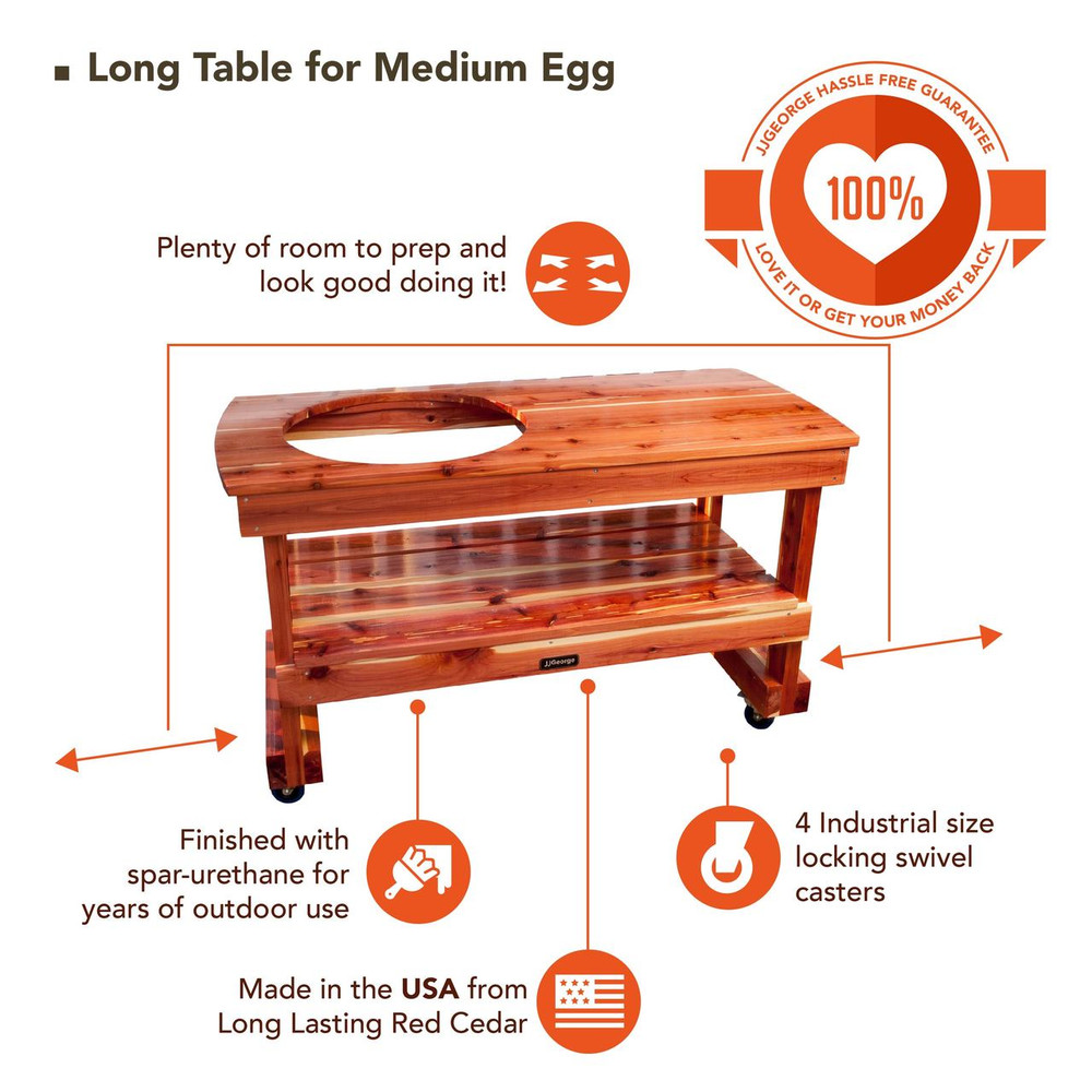Best table for Medium Big Green Egg