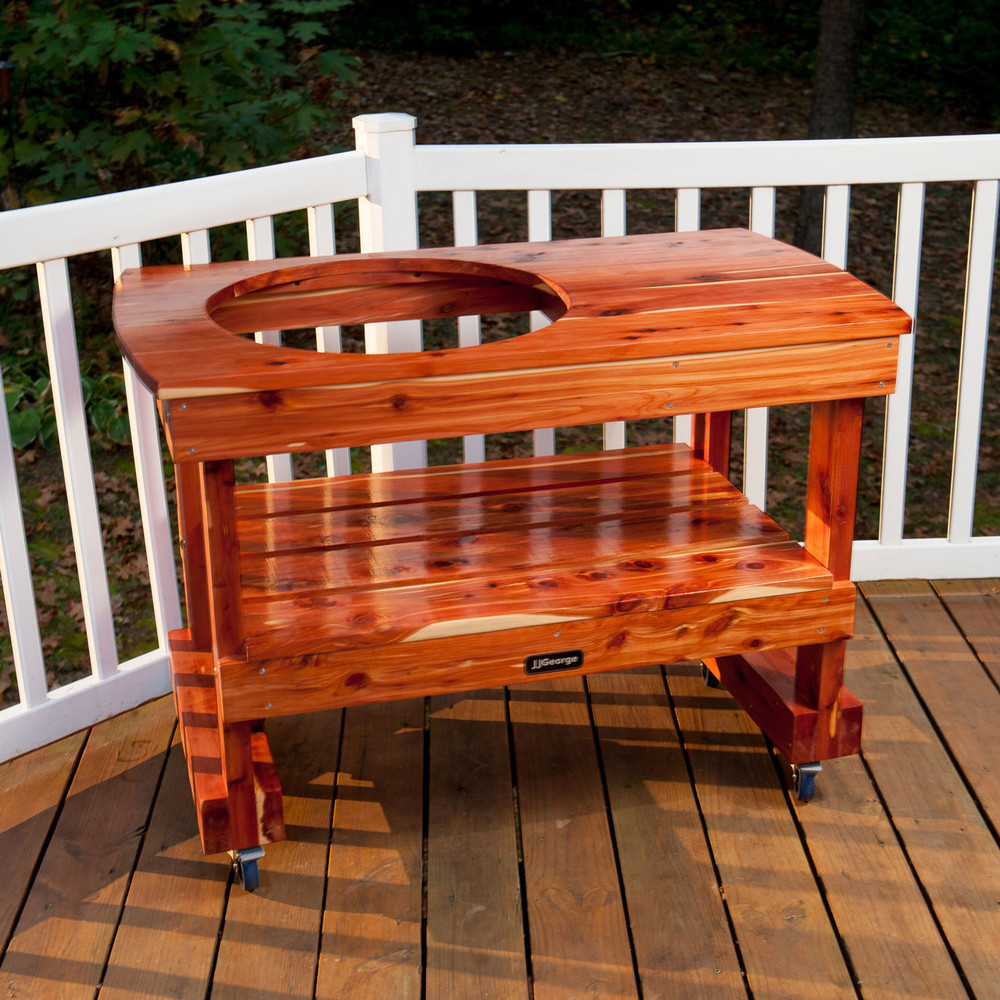 Best Compact Big Green Egg Table