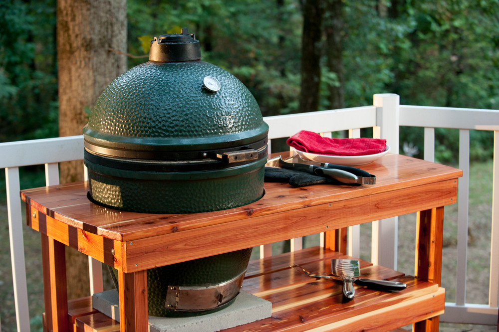 Big Green Egg Table for Sale
