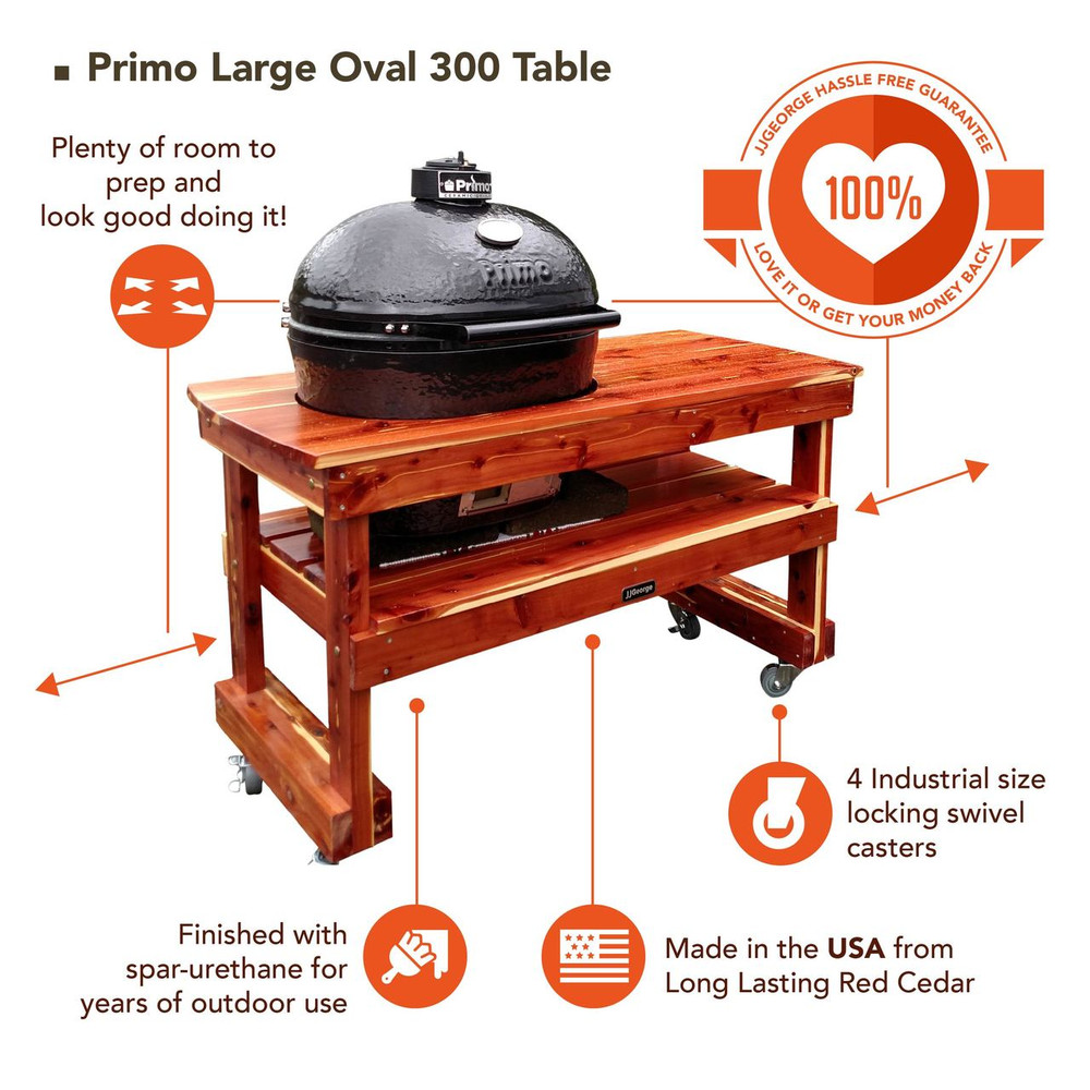 Best Primo Large Oval 300 Table