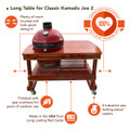 Table for Kamado Joe