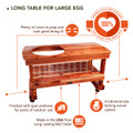 Best Big Green Egg Table