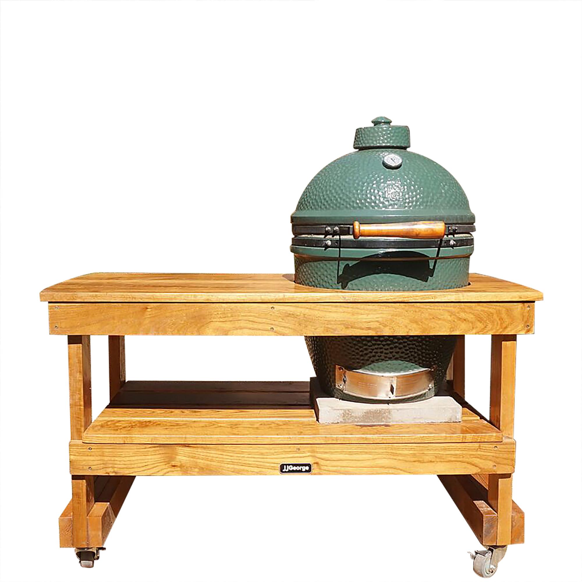 Big Green Egg Large.Long Table For Large Big Green Egg Sassafras Lumber