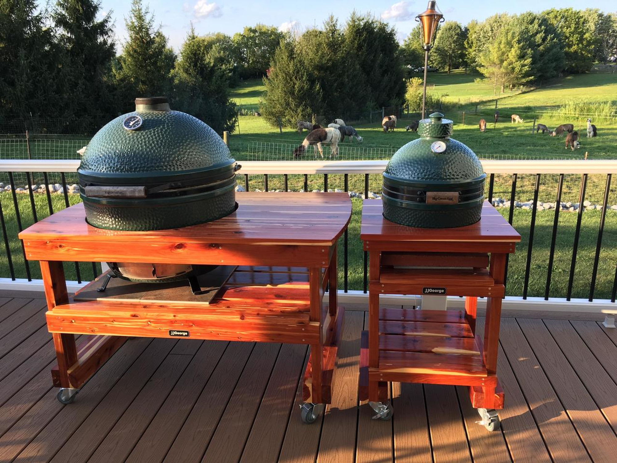 Prime Long Table For Xl Big Green Egg Home Interior And Landscaping Eliaenasavecom