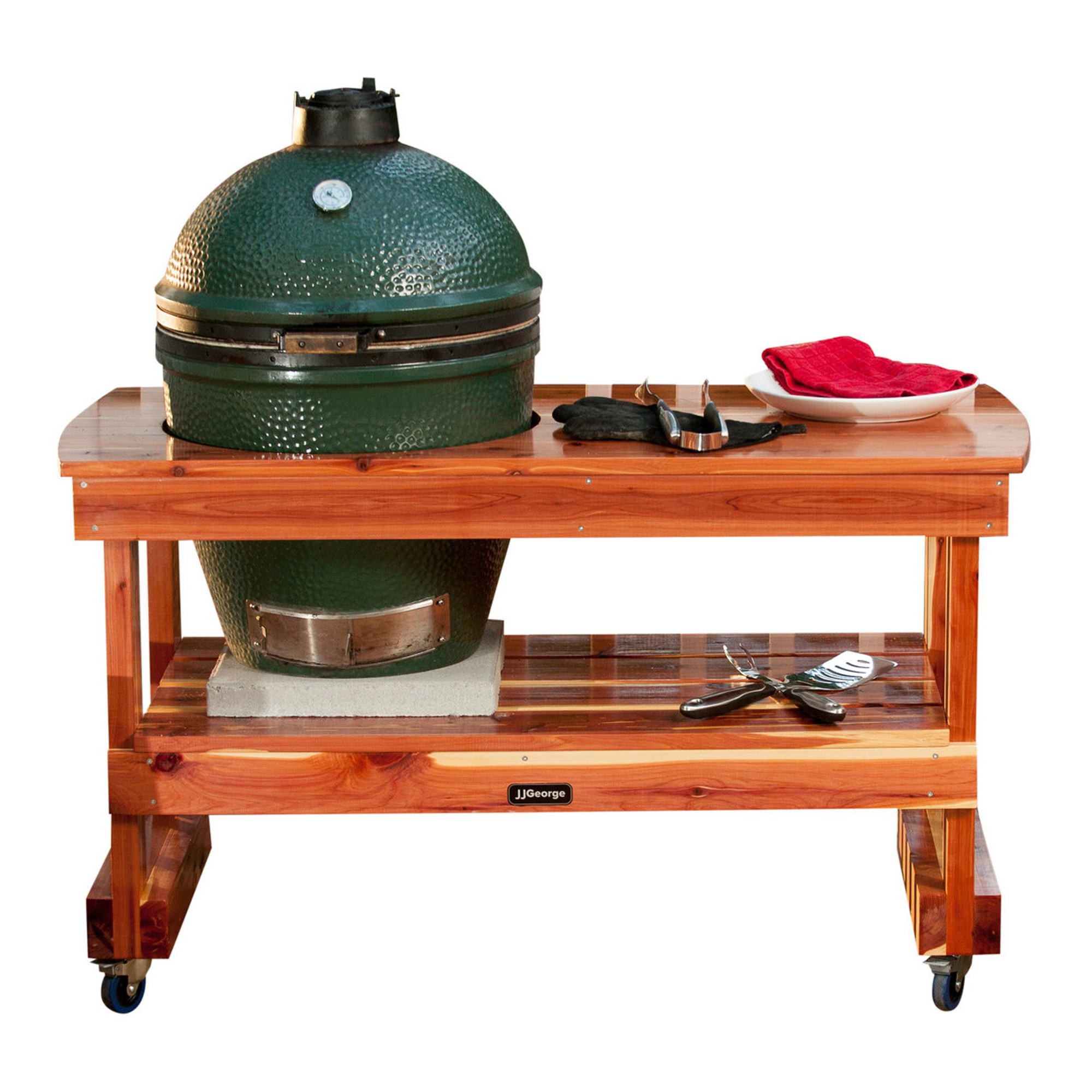 Swell Long Table For Large Big Green Egg Beutiful Home Inspiration Truamahrainfo
