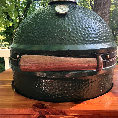 Baseball Bat Big Green Egg Handle