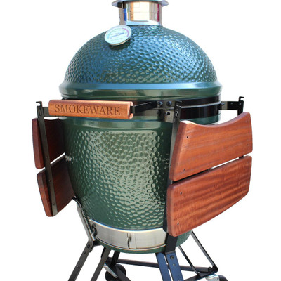 Flip up shelves for Big Green Egg