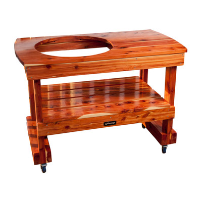 Compact Big Green Egg Table