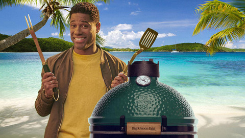 5 Essential Accessories for your Big Green Egg or Kamado Joe when stranded on a Deserted Island