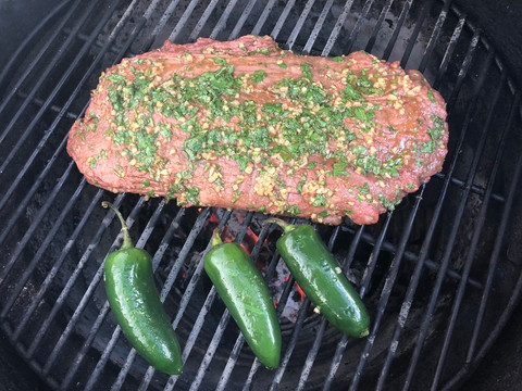 How to Cook Carne Asada Flank Steak on Your Big Green Egg