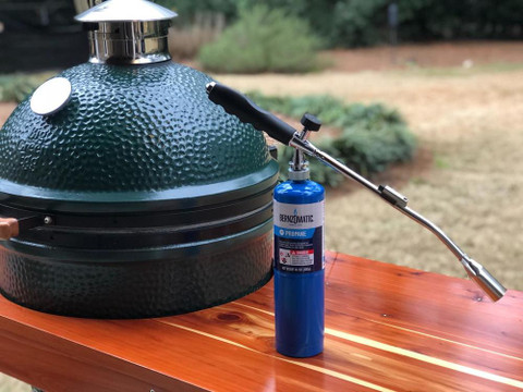 How to Light Your Big Green Egg with a Grill Torch