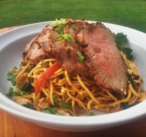 Thai Curry Tri-Tip on the Big Green Egg with Ken Hess
