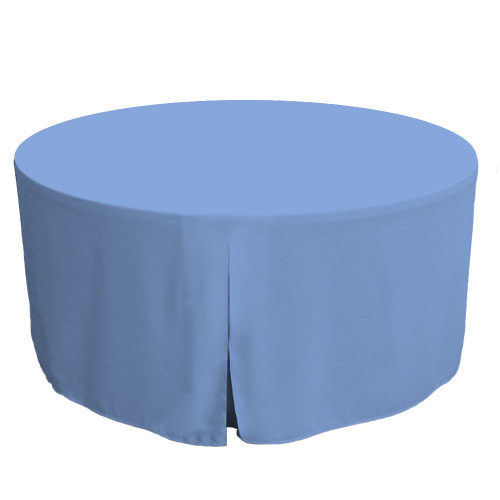 60-Inch Fitted Round Table Cover - Surf