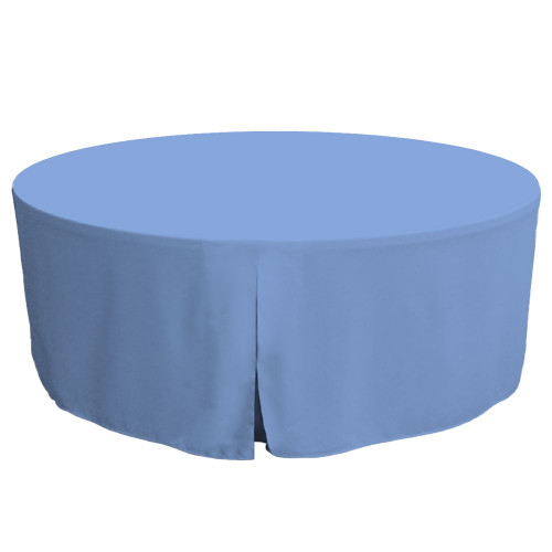 72-Inch Fitted Round Table Cover - Surf