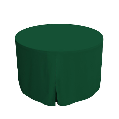 48-Inch Fitted Round Table Cover - Pine