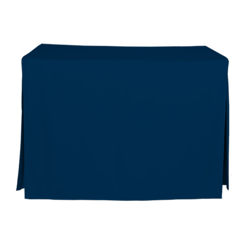 4-Foot Fitted Table Cover - Sapphire
