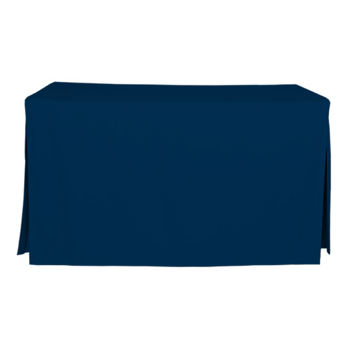 5-Foot Fitted Table Cover - Sapphire
