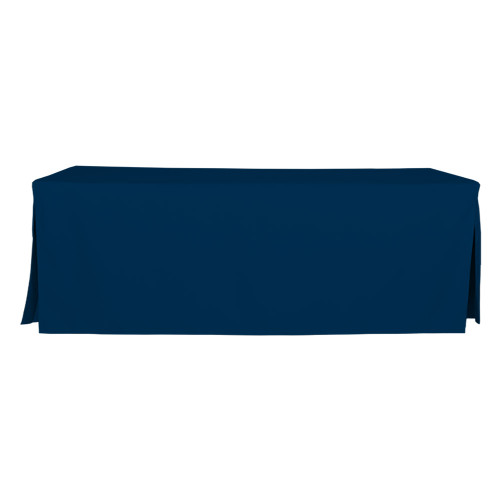8-Foot Fitted Table Cover - Sapphire