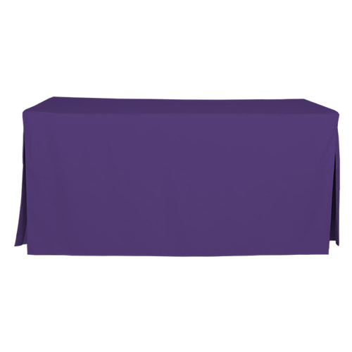6-Foot Fitted Table Cover - Violet