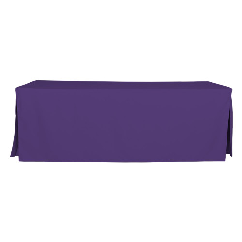 8-Foot Fitted Table Cover - Violet