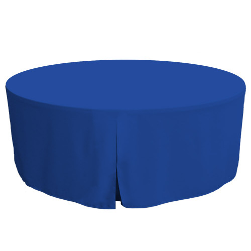 72-Inch Fitted Round Table Cover - Royale