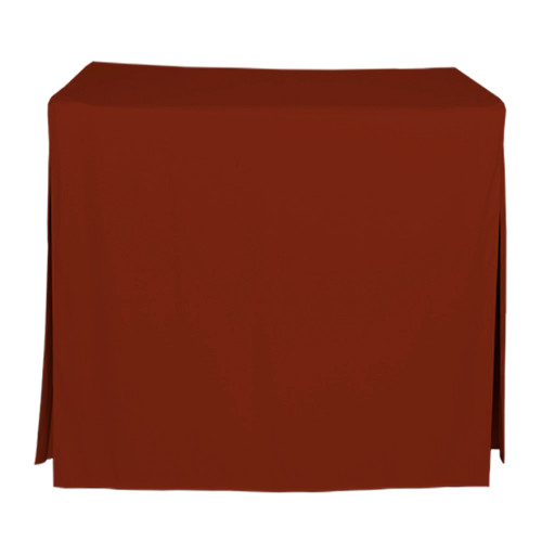 34-Inch Fitted Table Cover - Paprika