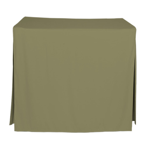 34-Inch Fitted Table Cover - Olive