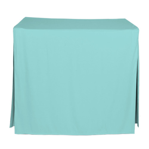 34-Inch Fitted Table Cover - Turquoise