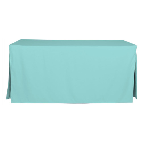6-Foot Fitted Table Cover - Turquoise