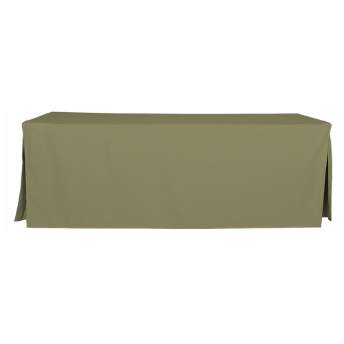 8-Foot Fitted Table Cover - Olive