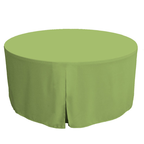 60-Inch Fitted Table Cover – Pistachio
