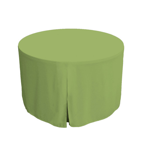 48-Inch Fitted Table Cover – Pistachio