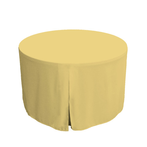 48-Inch Fitted Table Cover – Sorbet