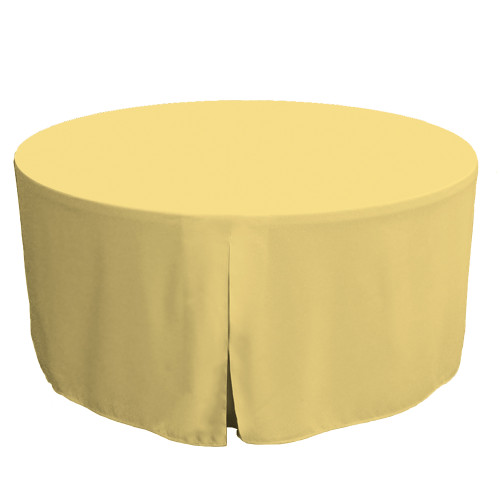 60-Inch Fitted Table Cover – Sorbet