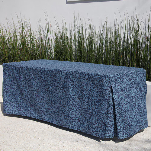 6-Foot Fitted Table Cover - Summer Blue