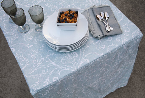 6-Foot Fitted Table Cover - Bali Mint