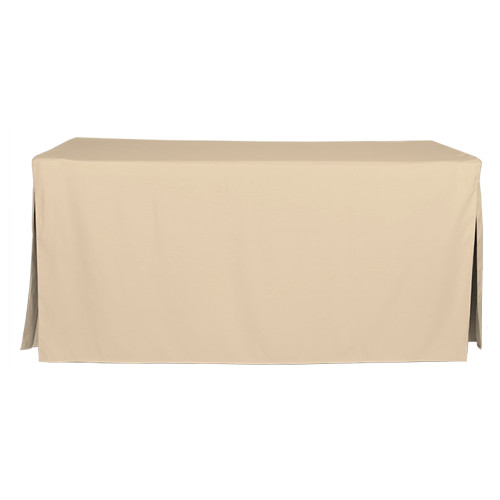 6-Foot Fitted Table Cover - Natural