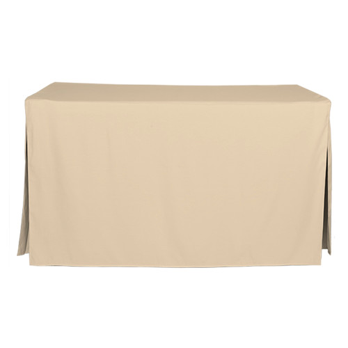 5-Foot Fitted Table Cover - Natural