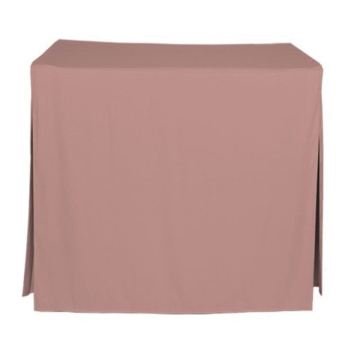 34-Inch Fitted Table Cover - Rose