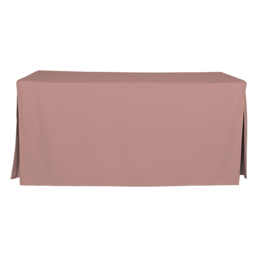 6-Foot Fitted Table Cover - Rose