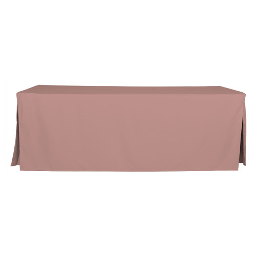 8-Foot Fitted Table Cover - Rose